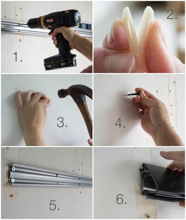 Installing Rubbermaid FastTrack for Garage Organization.jpg