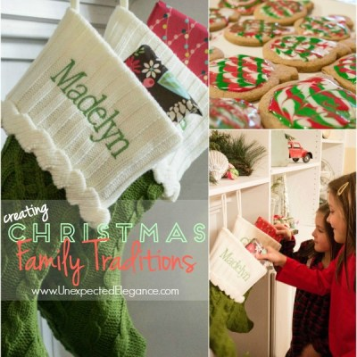 Creating Family Traditions & Personal Creations Giveaway