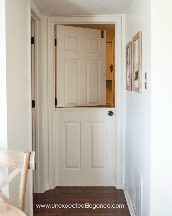 Where Are Those Projects Today  Dutch Door Using A Hollow Core Door