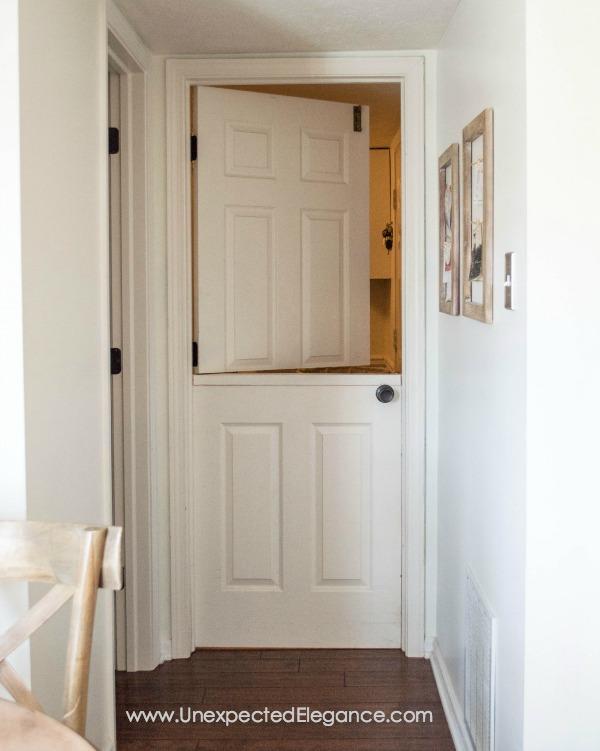 How to turn a Hollow Core Door Into a Dutch Door-1-3