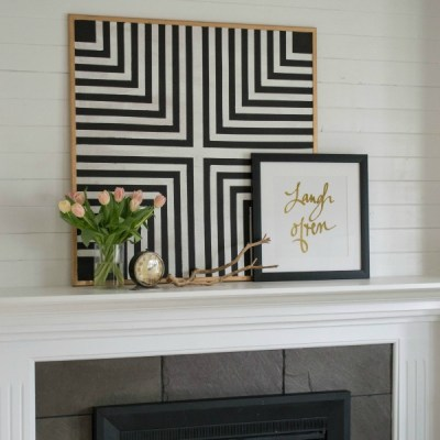 DIY Geometric Artwork
