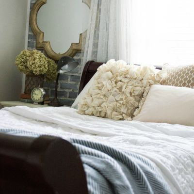 Guest Bedroom Loft-Inspired Makeover