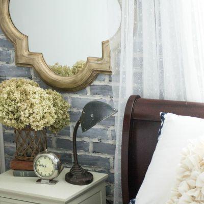 DIY Brick Wall and Room Colors