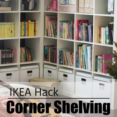 Corner Cabinet IKEA Hack