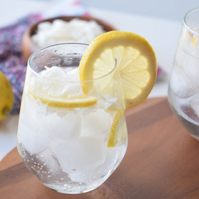 Coconut Lemon Spritzer