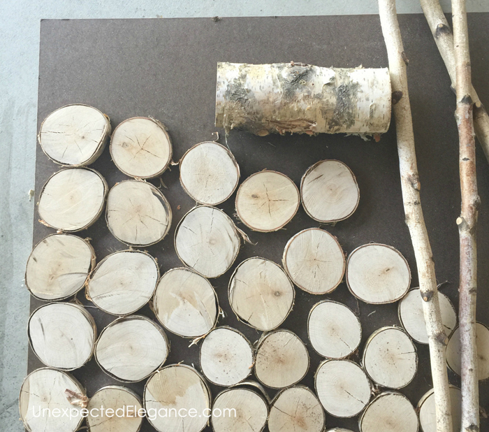 faux log fireplace insert tutorial