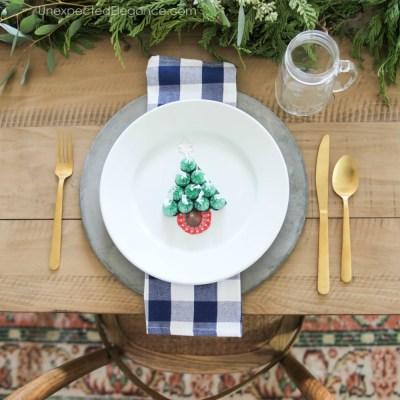 Kid's Christmas Table Craft   HERSHEY'S KISS Tree