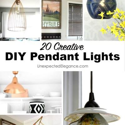 20 DIY Pendant Lights