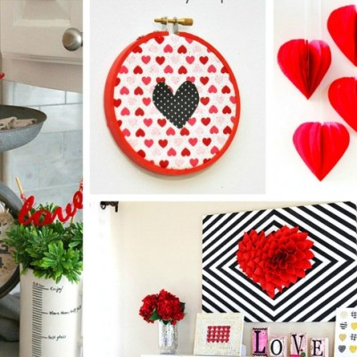 20 Valentine's Day Decor Ideas- Perfect for a Party