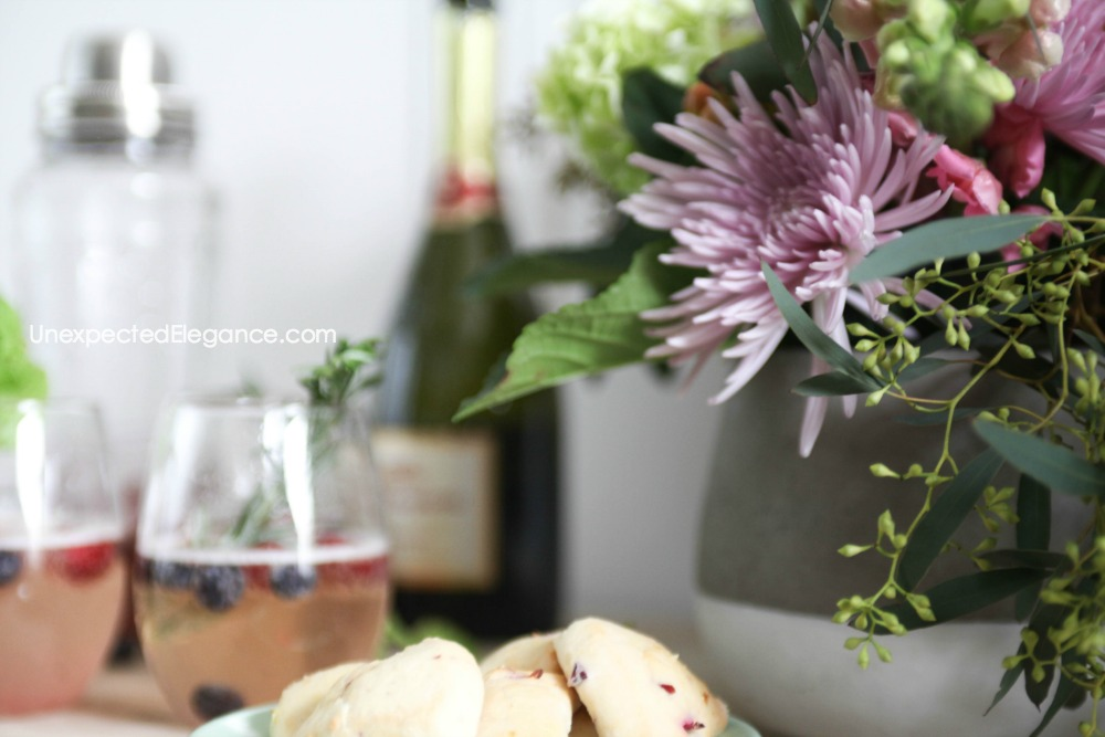 Quick and easy entertaining ideas!