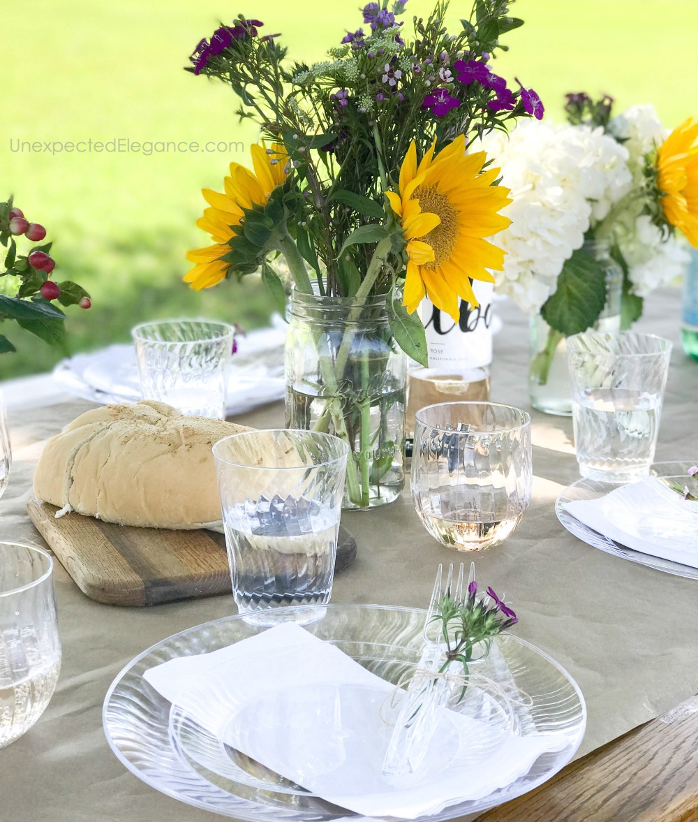 Outdoor entertaining for spring