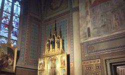 The shrine to St Valentine's Shoulder - Prague, Czechia