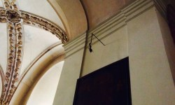A photo of the Mummified Hand in the Church of St James the Greater - Prague, Czech Republic
