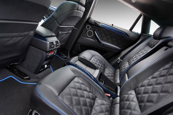 Luma Design BMW CLR X650 M Rear Interior