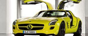 An Electrified Supercar – Mercedes Benz SLS AMG E-Cell