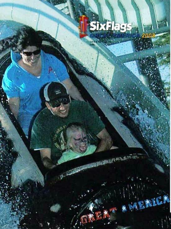 Devil Child On Roller Coaster