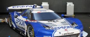 Laminated Cardboard Sports Car – Epson Nakajima SuperGT NSX