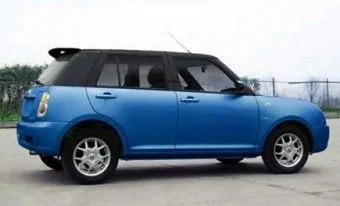 Chinese Lifan 320 and Mini Cooper look the same