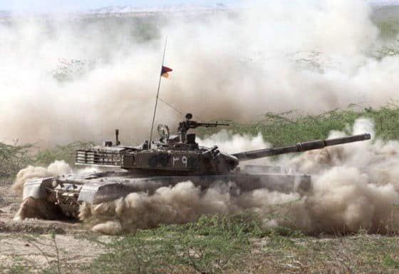 Pakistan's MBT-2000 Al-Khalid Tank in Action