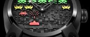 Limited Edition Romain Jerome Space Invader Watches