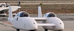 "Model 367 ""BiPod"" Hybrid Roadable Plane by Burt Rutan"