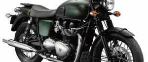 Triumph Steve McQueen Edition Motorcycle