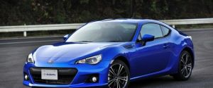Subaru BRZ Sports Coupe Production Model Unveiled