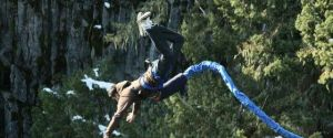 Unfinished Man Experiences 'Whistler Bungee' in Whislter, BC