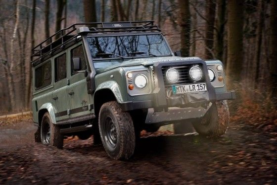 Special edition Land Rover Defender