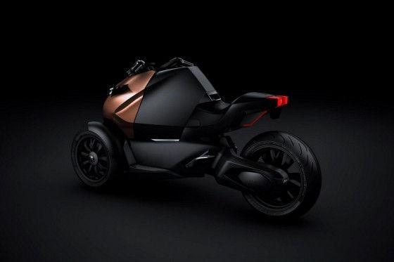 Hybrid Peugeot Onxy Scooter Trike