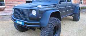 Mercedes Benz G-Wagon XXL Truck