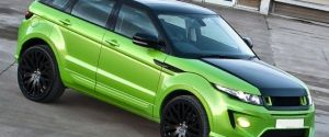 Lamborghini Green Range Rover Evoque by Kahn Design