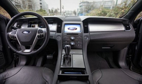 2013 Ford Taurus interior pictures