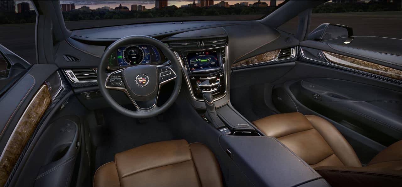 2014 Cadillac ELR interior