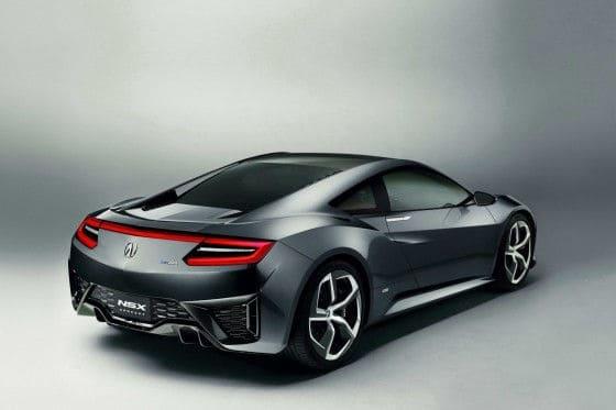 2015 Acura NSX Hybrid rear