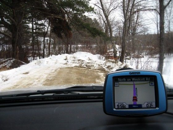 winter driving tips for using gps