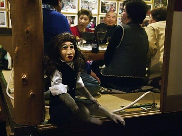 monkey waiters japan