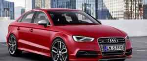 Audi A3 and S3 Sedans