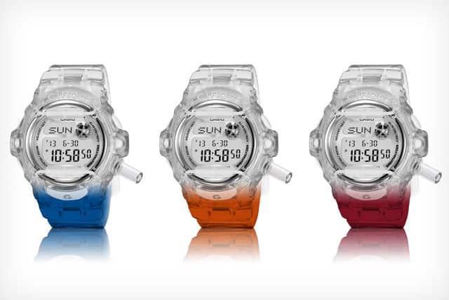 Ciroc Casio G-Shock Breathalyzer watches