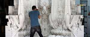 "Digital Grotesque – A Beautiful Algorithmically ""Designed"" 3D Printed Room"