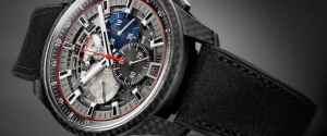 Zenith El Primero Lightweight Carbon Fiber Watches