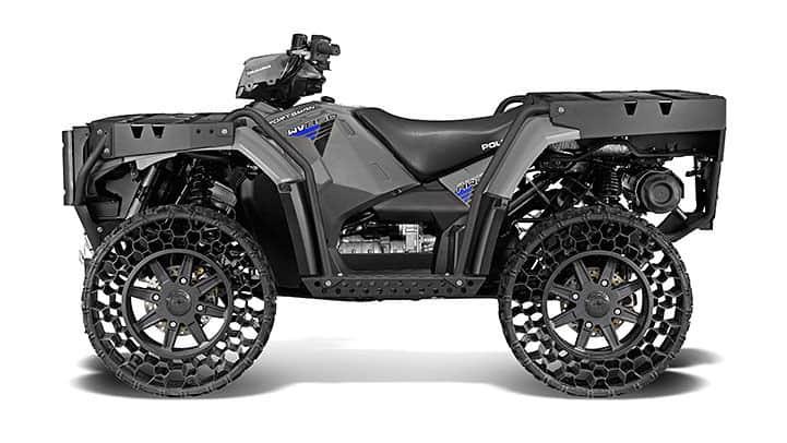 Sportsman ATV with TerrainArmor tires