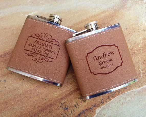 custom personalized flask