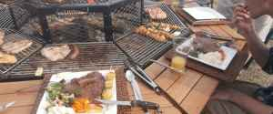 JAG Grill Barbeque Table