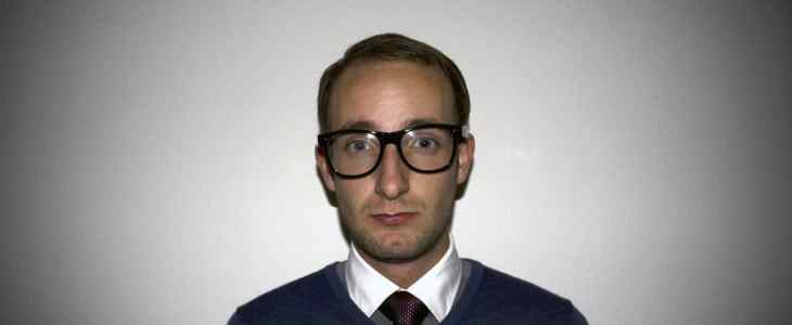 nerd accountant man