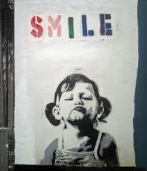banksy smile