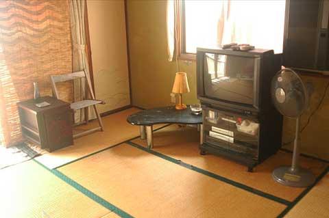 Salón con tatami