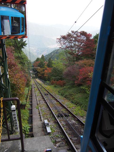 Funicular al monte Mitake