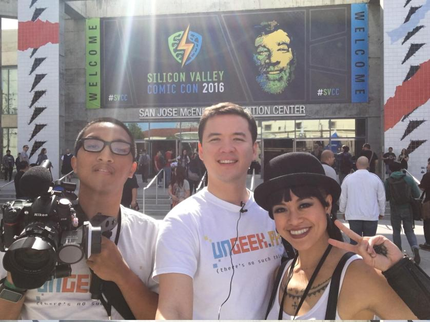 Special thanks to The Ungeek team, consisting of Karla Catalina our Arts and Cosplay correspondent, Chris Calubaquib our all around Technical Guru and Camera Expert and of course, yours truly