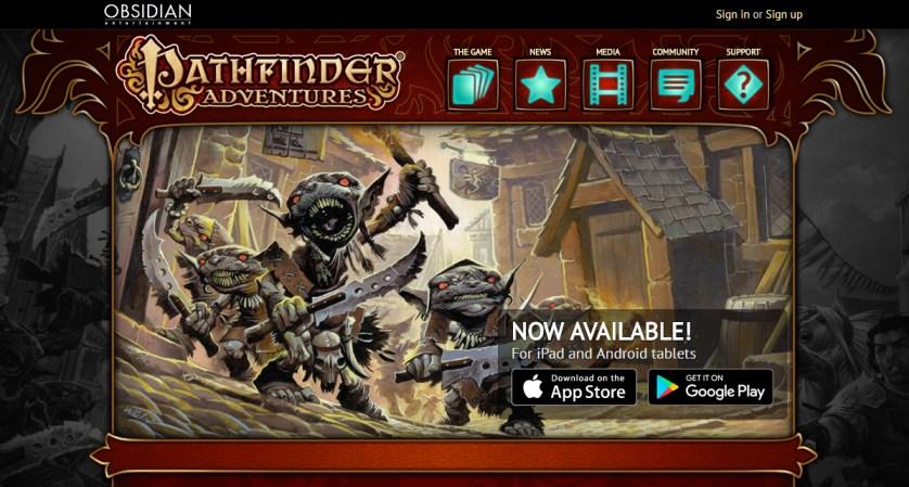 Pathfinder Adventures screen grab